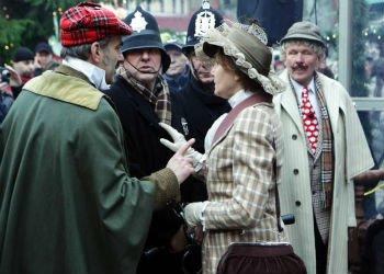 В Риге в пятый раз отметили день рождения Шерлока Холмса
