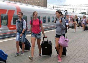 В Анапу прибыл первый чартерный поезд из Москвы