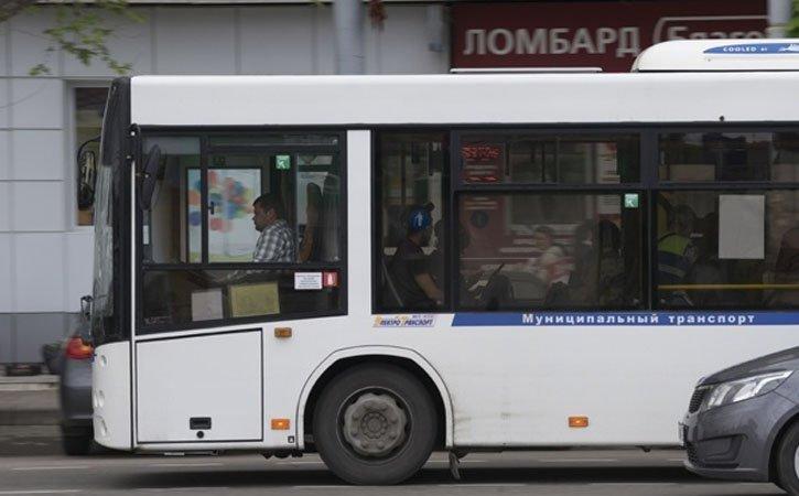 В Краснодаре автобус № 21