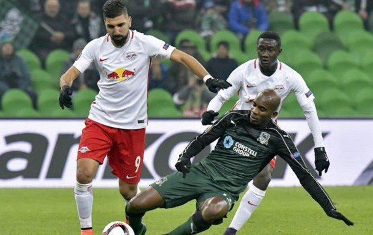 ФК «Краснодар» будет играть в 1/16 финала Лиги Европы