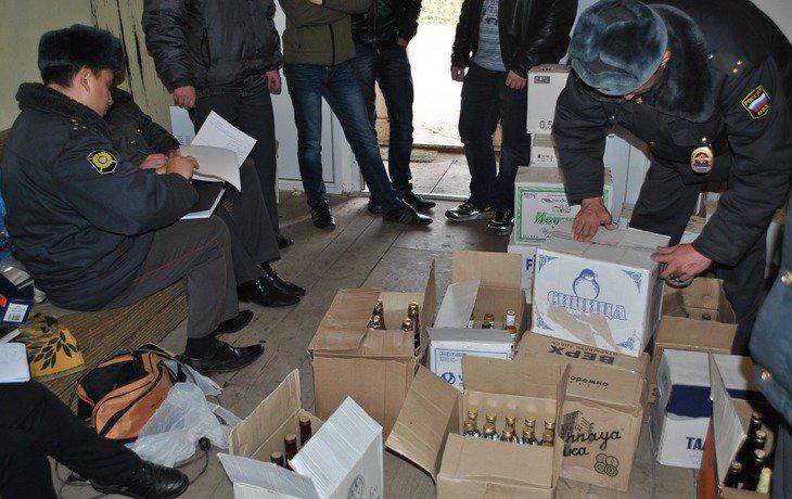 На Кубани в 2016 году изъяли 1,265 миллиона литров контрафактного алкоголя