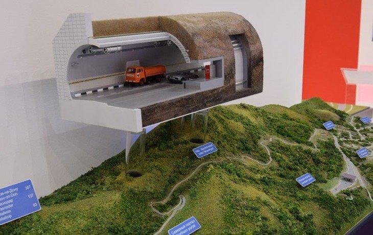 Кубань представит наинвестфоруме проект платного тоннеля надороге Майкоп— Туапсе