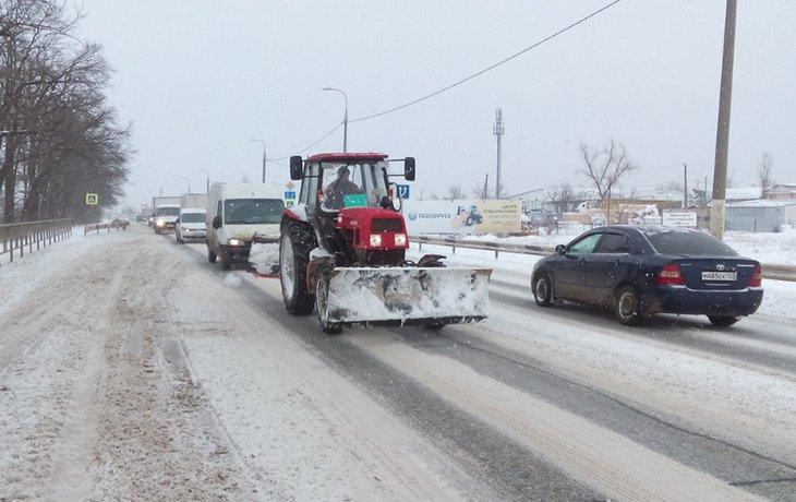 На Кубани автолюбителей предупредили о плохих погодных условиях