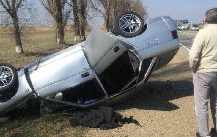 Вблизи станицы Марьянской в ДТП погиб водитель «ВАЗ-2110»