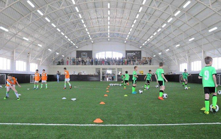 В столице Кубани открылся еще один футбольный манеж ФК «Краснодар»