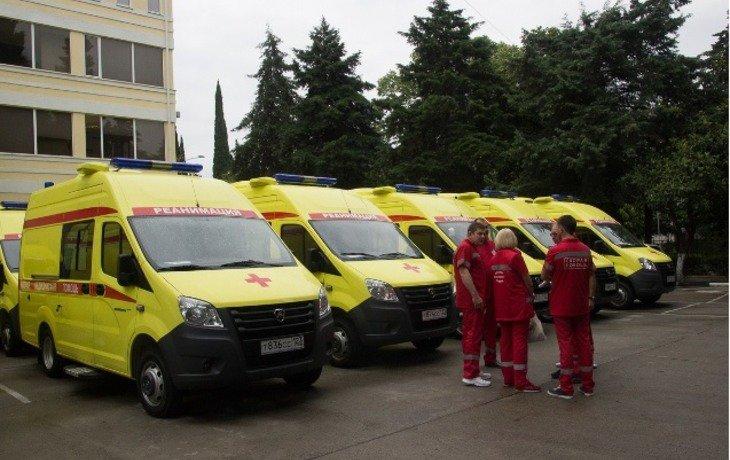В Сочи прибыли 20 новых автомобилей скорой помощи