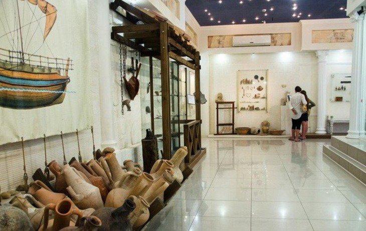 В Анапе открылась выставка античных артефактов, найденных на дне Черного моря